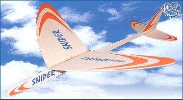 SNIPER Freiflug-Gleiter 356mm