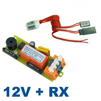 Magnetic Switch Combo: 12V/16A + Rx Switch Module