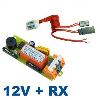 Magnetschalter-Kombi: 12V/16A + Rx Schaltmodul