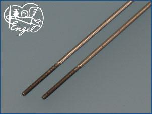 Schubstangen M2 x 1,7 mm 280mm, 2 Stk.
