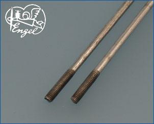 Schubstangen M4 x 3,5 mm 160mm, 2 Stk.