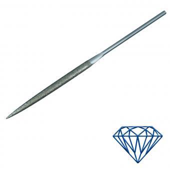 Diamant-Feile halbrund 5,1x1,7mm