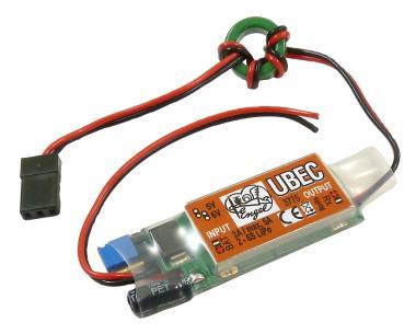 UBEC 3A, Low Noise, max. 5A, 2-6S
