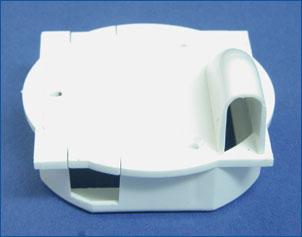 ServoBOX Flächenservoschacht Typ BM Mini/Mikro Paar