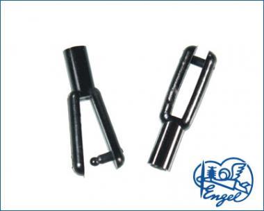 Gabelköpfe LEICHT 0,3g / 1,5mm, 10 Stk.