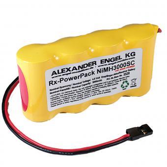 Empfänger-Akku PowerPack NiMH 4,8V/3000mAh SC