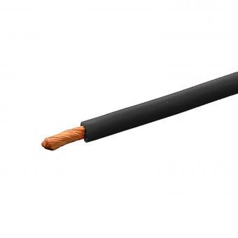 Silikonkabel hochflexibel 0,75 mm² SCHWARZ 1m
