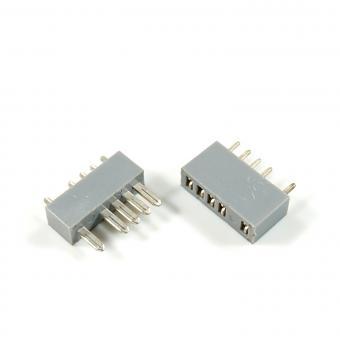 MPX Stecker mit Buchse 5-Pol, 5 Paar