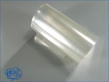 Schrumpfschlauch PVC 165mm transparent klar