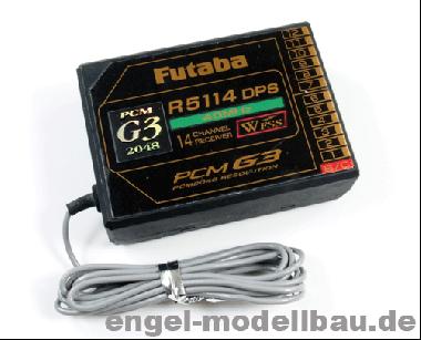 Futaba Empfänger R5114 DPS 40MHz F0926
