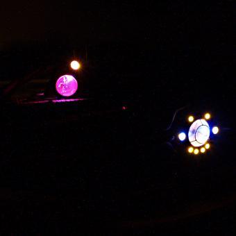 Beleuchtungssatz ULTRAHELL Nautilus mit elektronischem 4-Kanal-Schalter