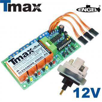 Schalteinheit Tmax2 12V - Komplettset