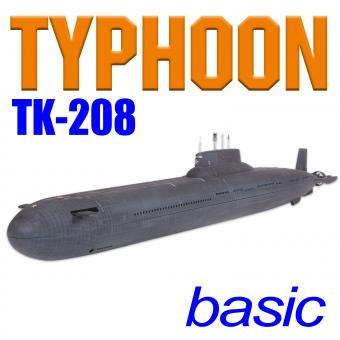 TYPHOON TK-208 MasterScale Grundbausatz ohne Tauchsystem