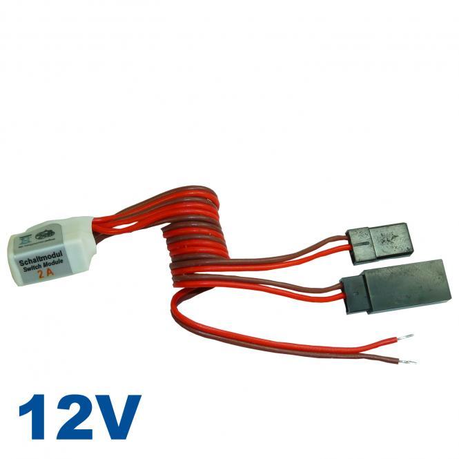 Schaltmodul Rx 2A für magnetische Betriebsschalter 12V
