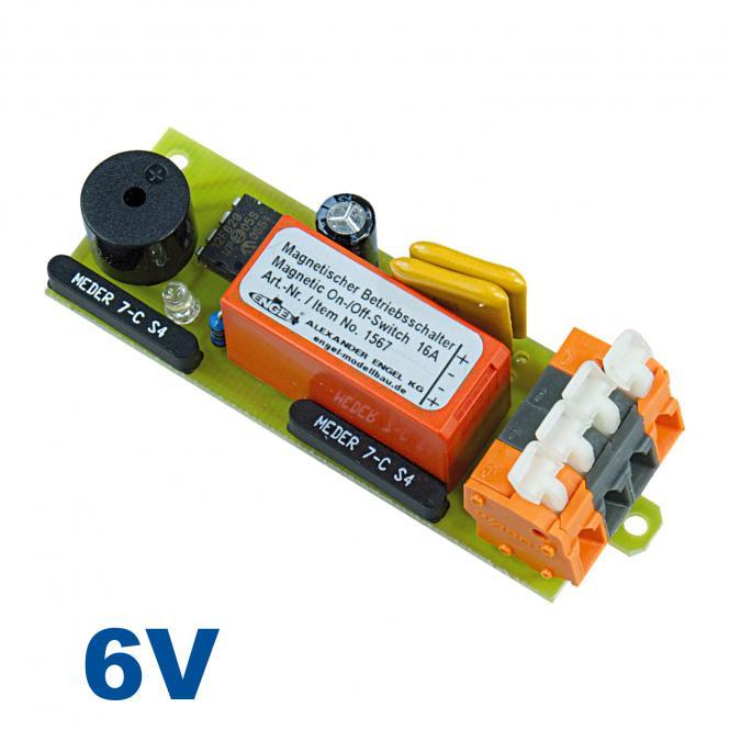 Magnetischer Betriebsschalter 6V/16A