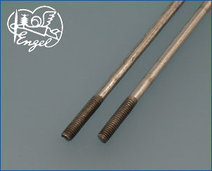 Push Rod M4 x 3.5 mm 160mm, 2 pcs.