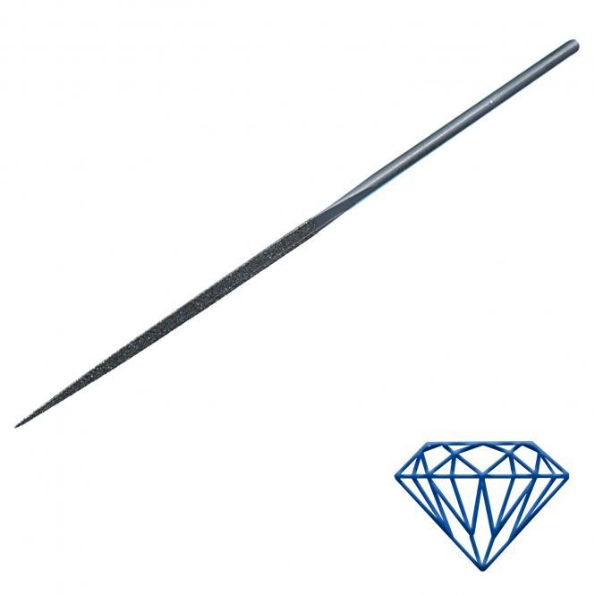Diamant-Feile dreikant 2,8x2,8mm