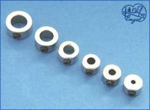 Stellringe m.Inbus-Gsft. ø6,1mm, 10 Stk.