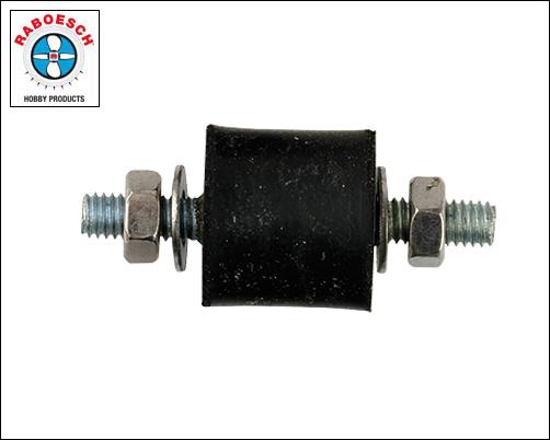 Vibration Absorbers 15x12mm M4, 4pcs.