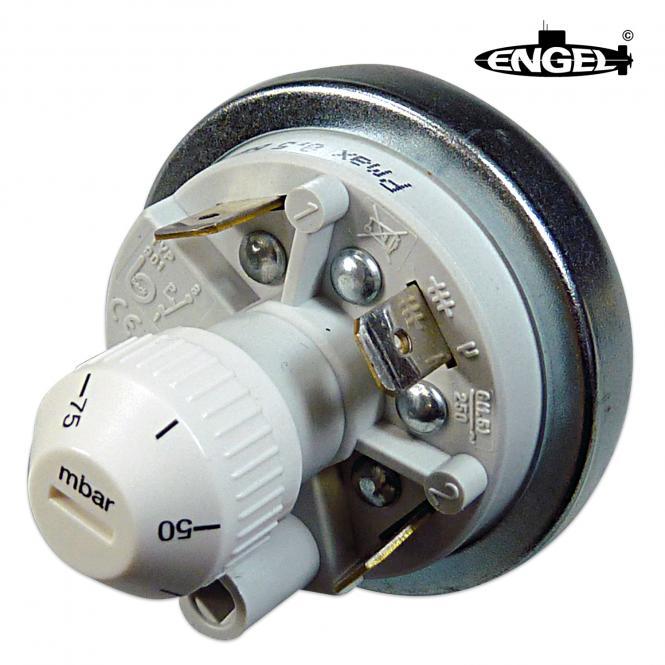 Pressure Switch 6.3 mm, adjustable