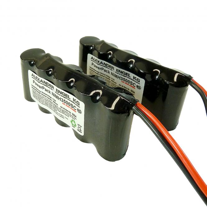 Battery Pack High-Power NiMH for model submarine type AKULA II