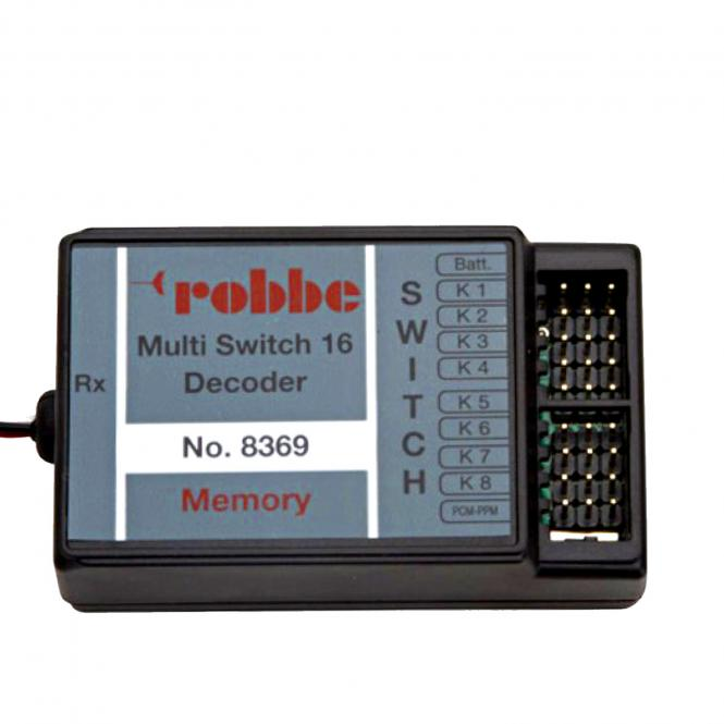 Multi Switch 16 Decoder Memory 8369