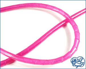 Spiralschlauch 4,3 mm NEON-ROT, 1 m