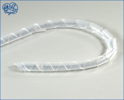 Spiralschlauch 2 mm TRANSPARENT, 1 m