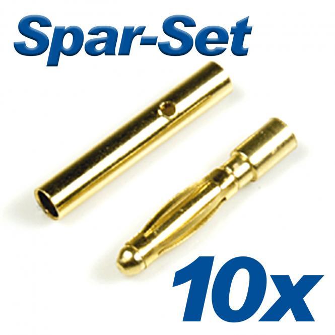 Goldkontakt G2s 2mm 10A 10 Satz