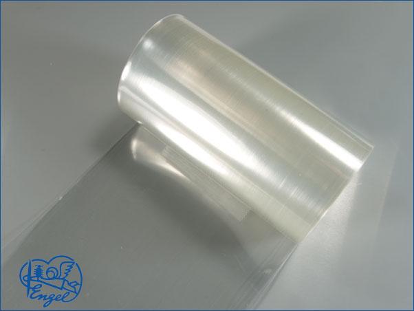Schrumpfschlauch PVC 37mm transparent klar