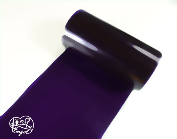 Schrumpfschlauch PVC 70mm transparent violett