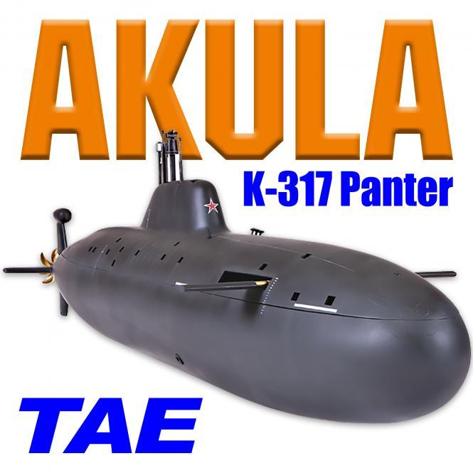 Akula K-317 Panther mit Tauchsystem TAE