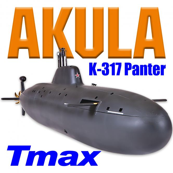 AKULA K-317 Panther with Diving System TMAX