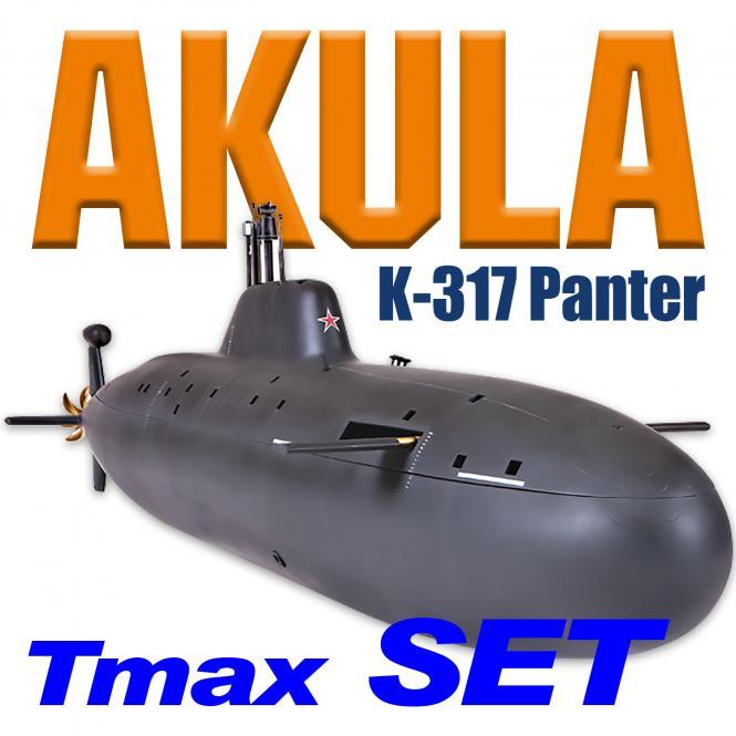 Akula K-317 Panther TMAX SET