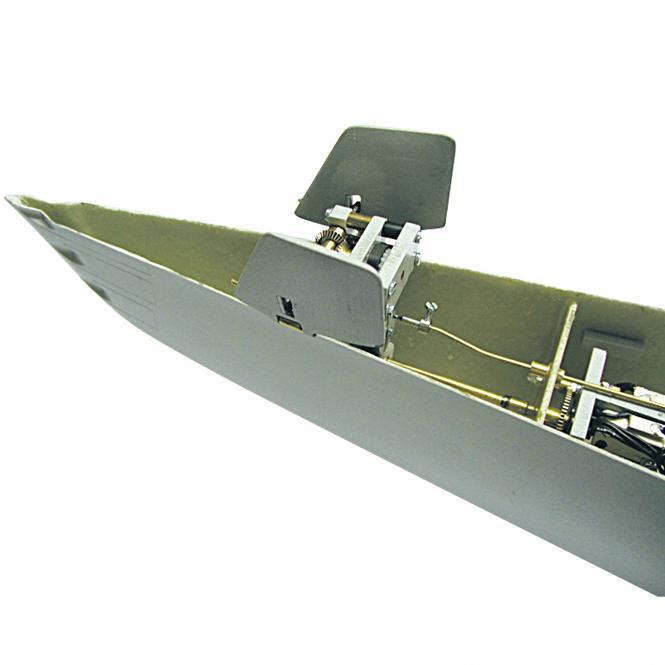Klappmechanik für vordere Tiefenruder GATO -mit RMR-