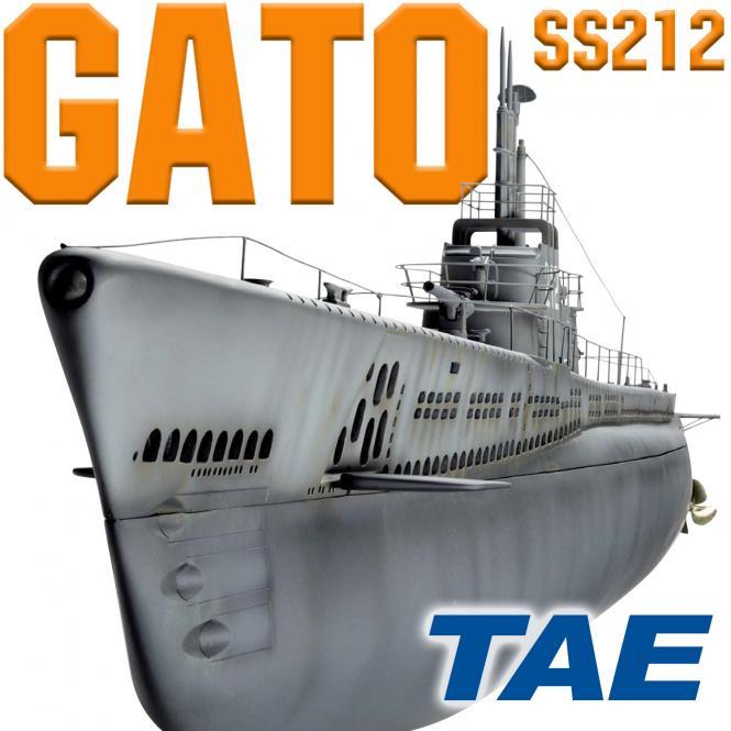 SS212 Gato mit Tauchsystem TAE