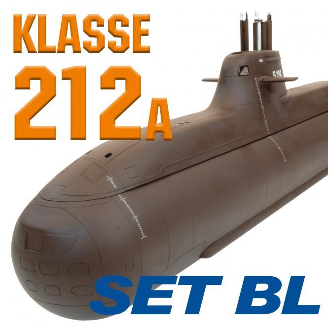 212A U-Bootmodell SET BRUSHLESS