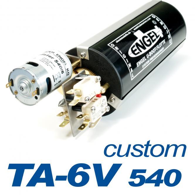 Kolbentank TA 6V 540 -SONDERANFERTIGUNG-