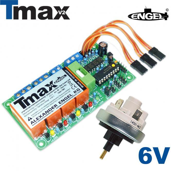 Schalteinheit Tmax2 6V - Komplettset