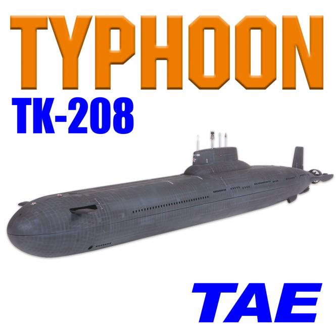 TYPHOON TK-208 MasterScale mit Tauchsystem TAE