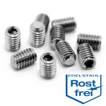 Allen Set Screw M3x4mm - Stainless Steel, 10 pcs.