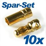 Gold Connector CT-3.5mm 35A 10 sets