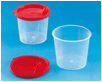 Mixing Cup 125 ml with Lid, 10 pcs.