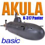 Akula K-317 Panther Grundbausatz ohne Tauchsystem