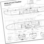 Plans and manual for Akula K-317