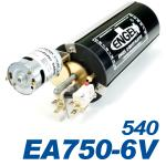 Kolbentank EA750-6V 540