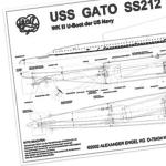 SS212 GATO Plans and manual