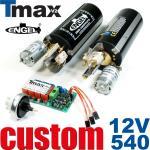 Tauchsystem Tmax in 12V mit 540er Motoren -SONDERANFERTIGUNG-