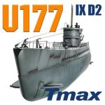 U177 type IX D2 with Diving System TMAX